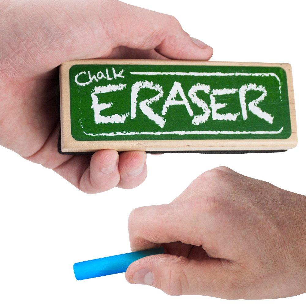 Imagination Generation Chalk and Dry Erase Board Black Felt Eraser