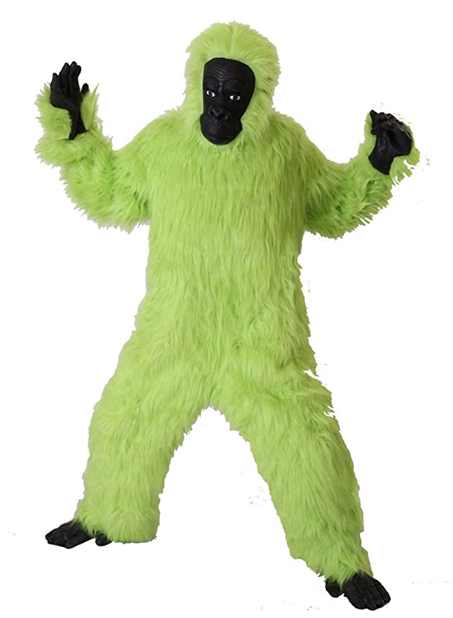 Foxxeo Traje de Gorila Verde Premium para Adultos Traje de Mono ...