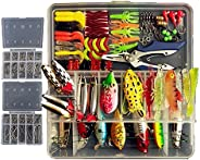Freshwater Fishing Lures Topconcept Tackle Boxes with Tackle included Frog Lures Hard Metal Lure VIB Rattle Cr