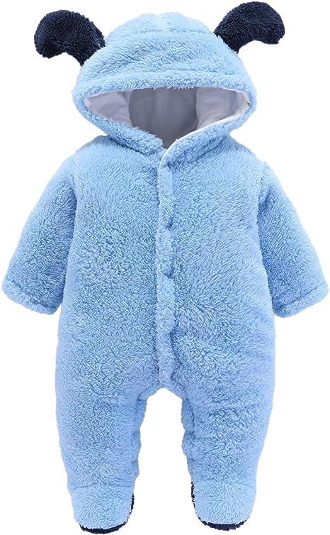 Boy Overalls Baby Boy Winter Clothes,Baby Boy Gift Baby Boy Romper,Micro Fleece Boy Jumpsuit