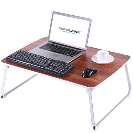 Amazon.com : [EXTRA LARGE] Bed Table for Laptop, Superjare Drawing ...