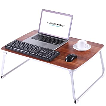 amazon com extra large bed table for laptop superjare drawing