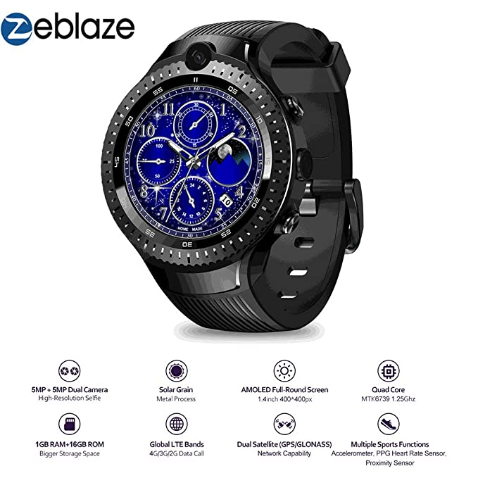 Amazon.com: Easytoy Smart Watches for Men Women, Zeblaze ...