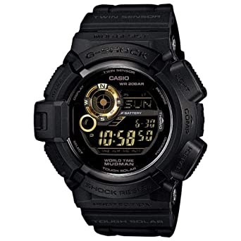 01f2852a4e01 Amazon.com  Casio G Shock G9300GB-1 Tough Solar Mudman Men s Digital ...