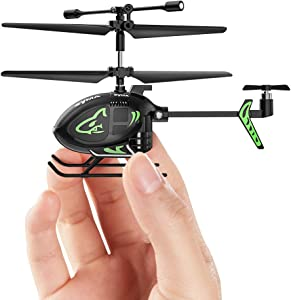 RC Helicopters, Syma Remote Control Helicopter with Gyro Nano Indoor Kids Toy Gift