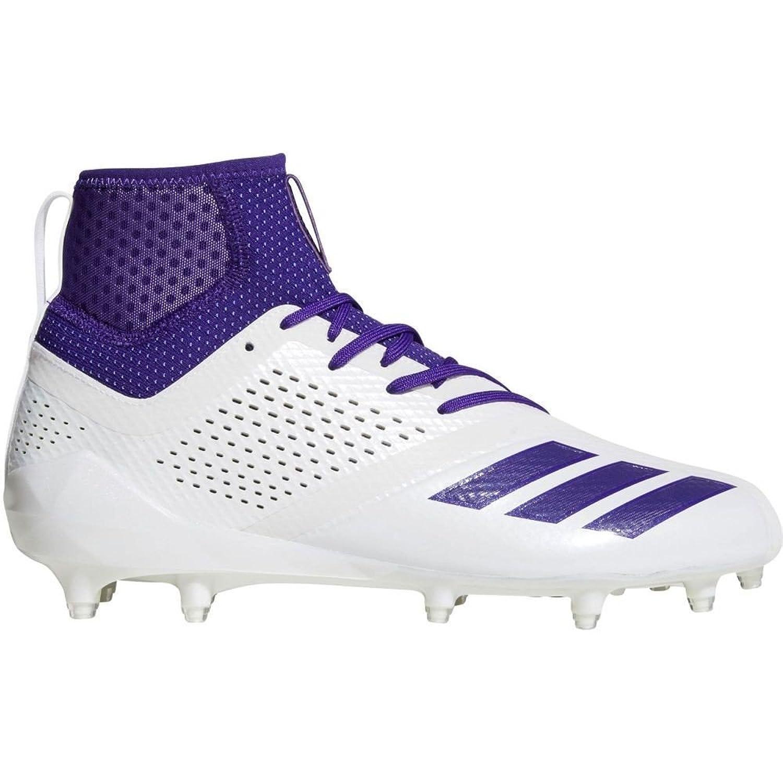 (アディダス) adidas メンズ アメリカンフットボール シューズ靴 adiZERO 5-Star 7.0 SK Mid Football Cleats [並行輸入品] B07C7V8RV8 9.0-Medium