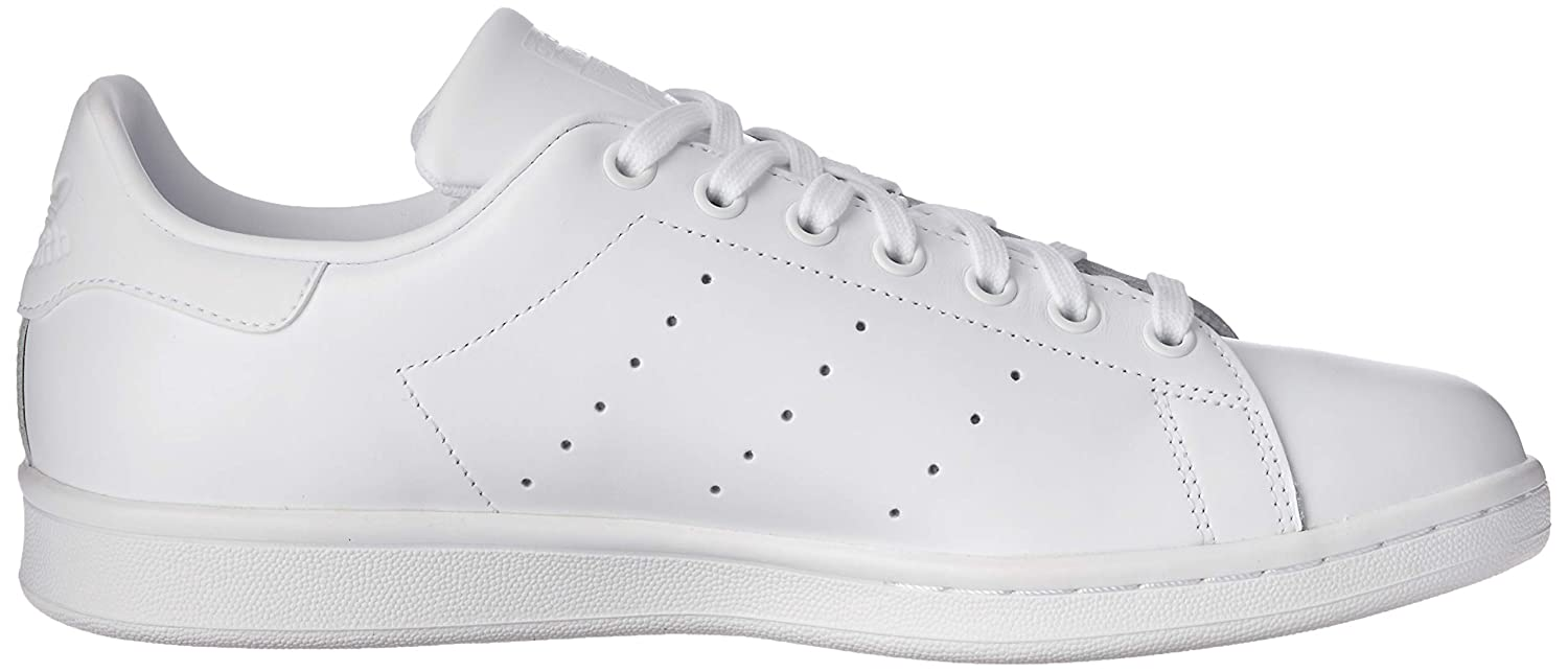 adidas Mens Stan Smith White Leather Trainers 9 US