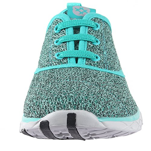 Green8859a Quick Drying Women's Shoes Water Aqua Aleader FOgqSwR