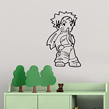 Amazon.com: Funny Anime Vinyl Wall Decal For Boys Girls ...