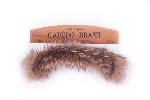deargles de pelo Mujer Bufanda Bufanda F ¨ ¹ r abrigo de invierno Cuello o capucha Edges Natural 3 M...