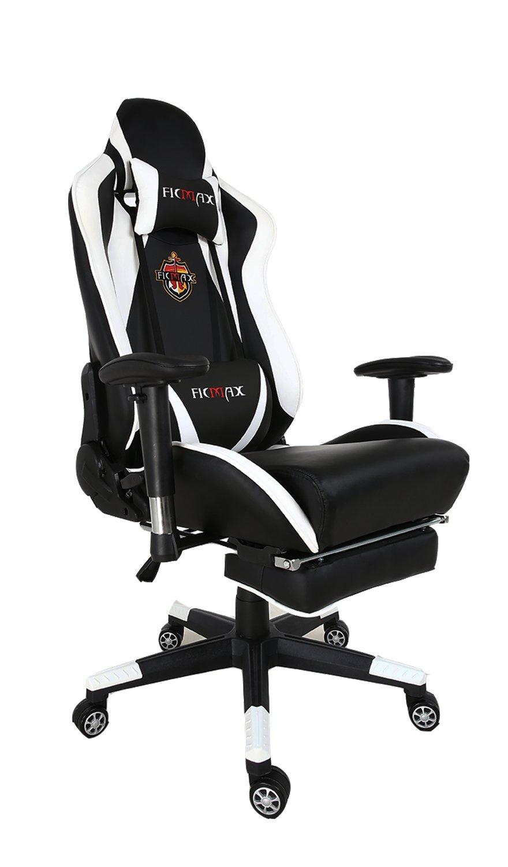 Ficmax talla grande ergonómica silla giratoria de oficina gamer con masaje soporte