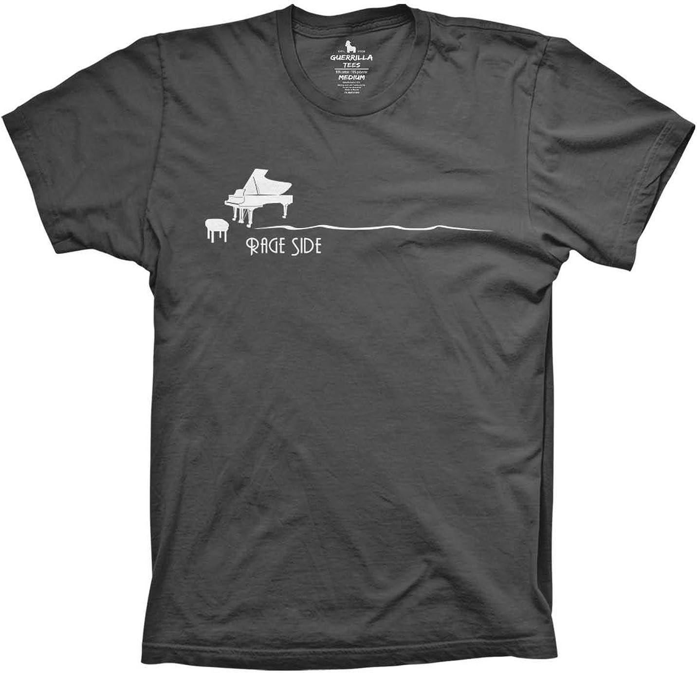 Guerrilla Tees Rage Side Shirt Funny Concert Tshirts Music Piano Tshirts 61a5nFpg6jL