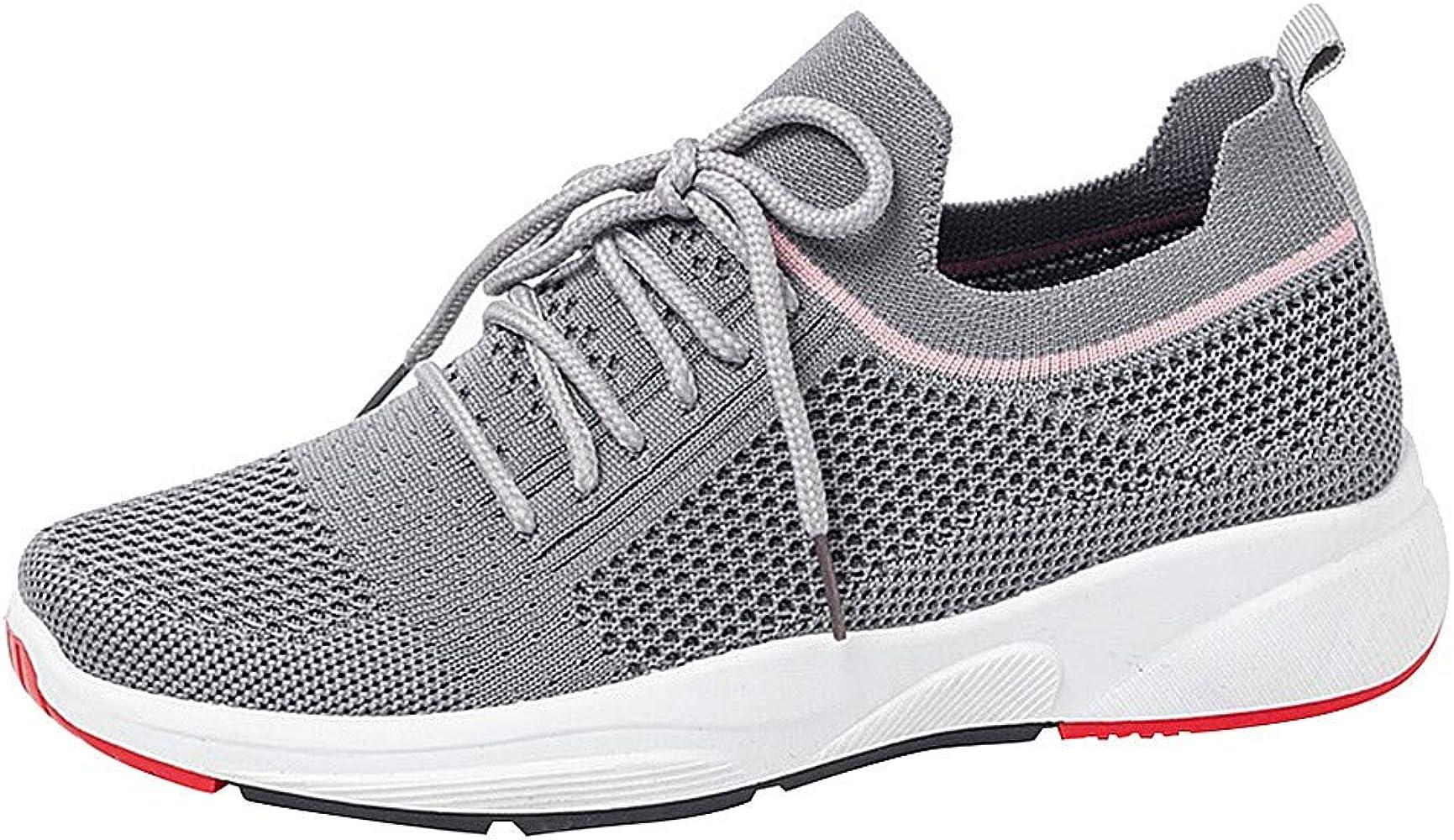 Damen Jungen Sneaker Laufschuhe Freizeitschuhe Sportschuhe Schnürer