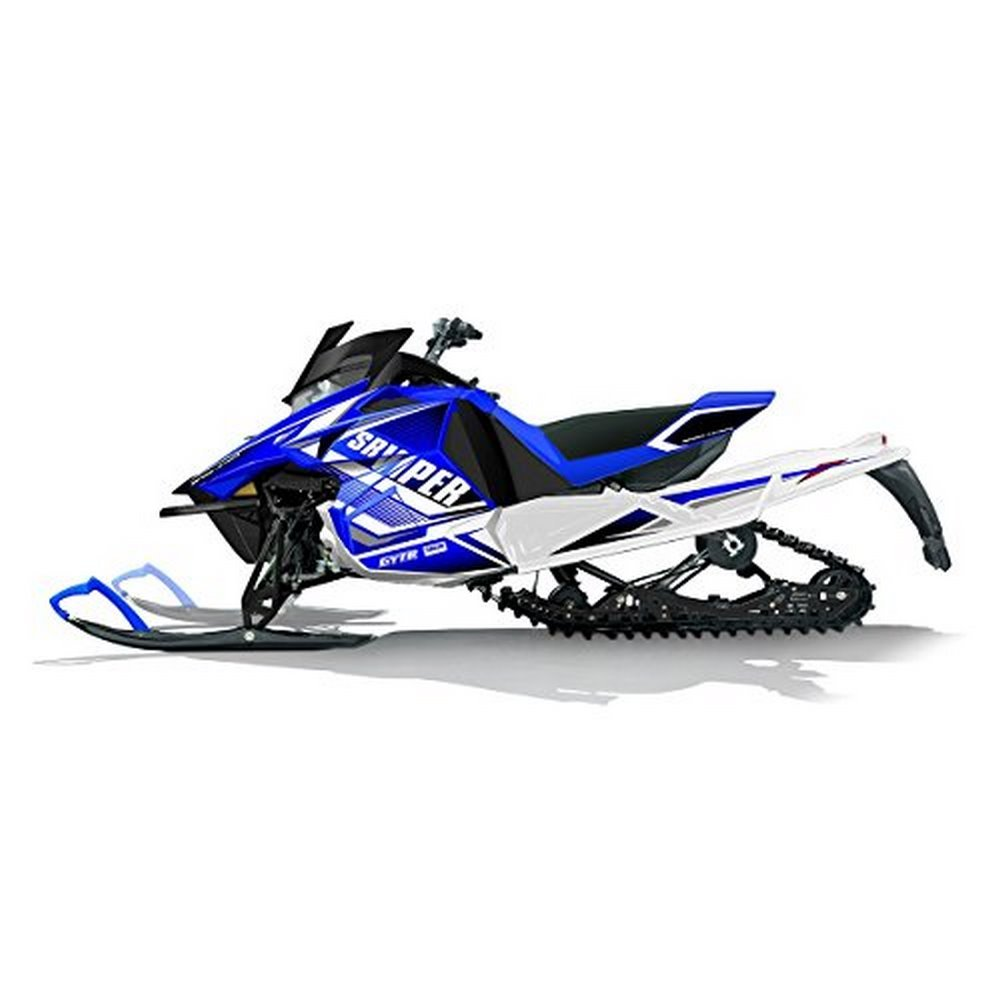 Yamaha NEW OEM SR Viper Snowmobile Blue Sport Graphic Wrap