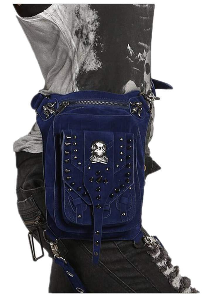 WEIZHE Damenmode europäischen und amerikanischen Punk-Pinzette Sporttaschen gehüllt