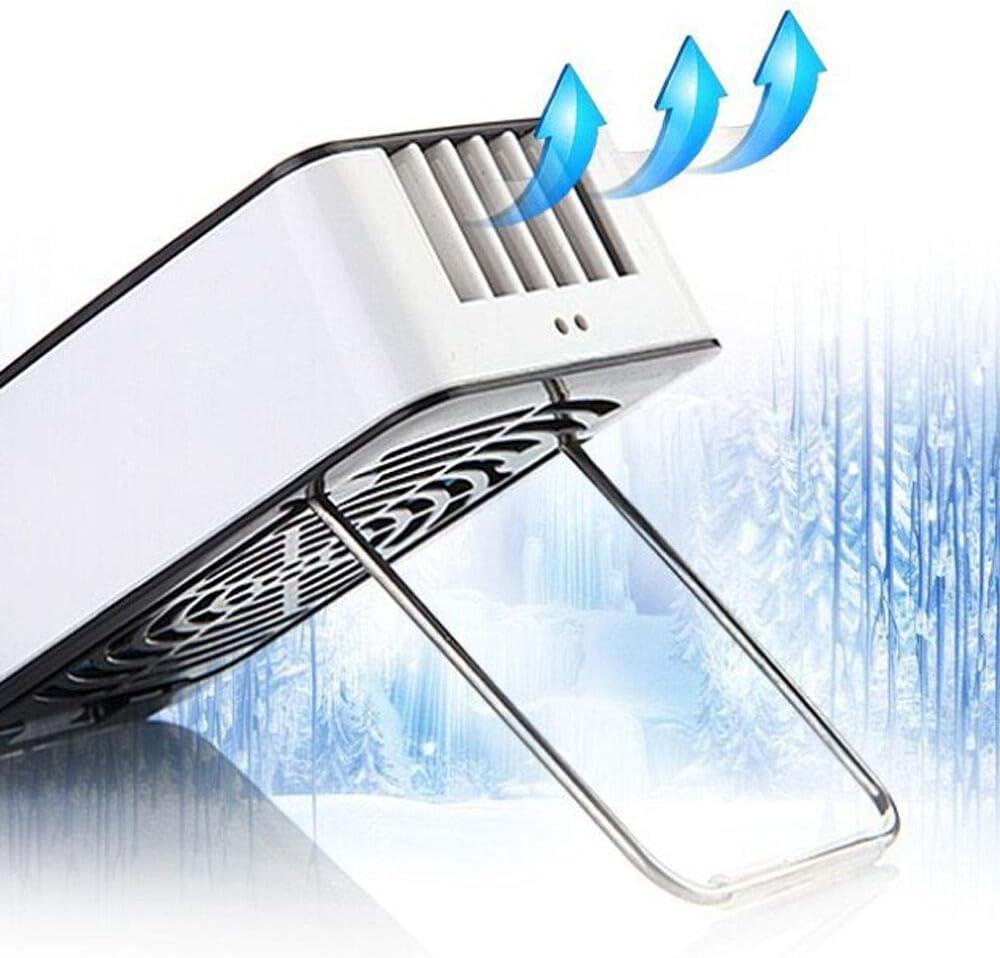 Modern Style Set of 1 LxWxH Jak N Joe Portable Fan Plastic Purple Hand Held USB Rechargeable Cooling Size 4.4 x 2.6 x 1.4