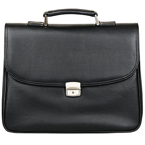 Jack&Chris PU Leather Briefcase Messenger Bag Laptop Bag MBYX011 [並行輸入品]   B07H1YZTNM