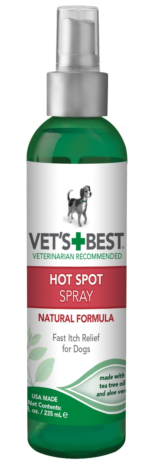 Vet's Best Hot Spot Itch Relief Spray for Dogs 8 oz