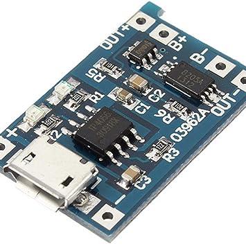 5 Unids/Lote 5 V 1A Micro USB 18650 Cargador de Batería de ...