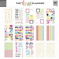 None Me /& My Big Ideas the Happy Planner Value Pack Teacher Stickers