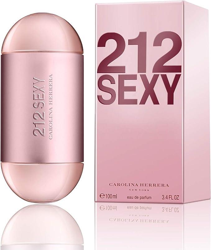 Carolina Herrera 212 Sexy Agua de Perfume Vaporizador, Rosa - 100 ml: Amazon.es