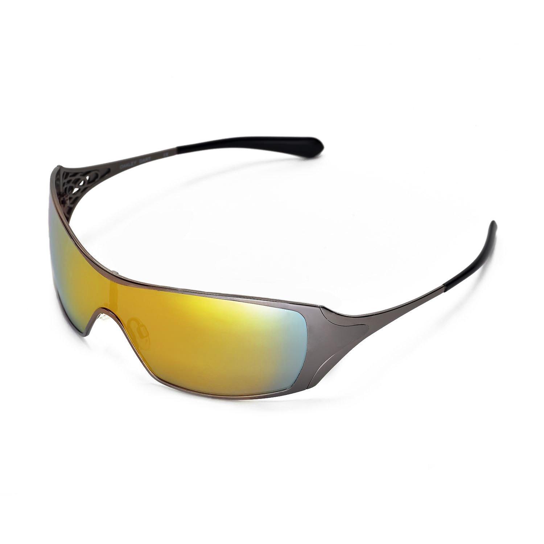 a920e1845a Amazon.com  Walleva Replacement Lenses for Oakley Dart Sunglasses (24K Gold  - Polarized)  Shoes