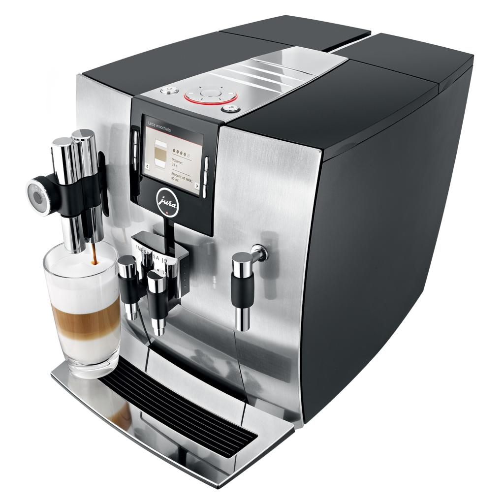 jura impressa j9 4 one touch tft coffee machine 1450 watt 15 bar pure aluminium. Black Bedroom Furniture Sets. Home Design Ideas