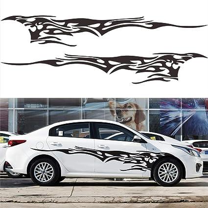 2x Vehicle Side Body Waterproof Vinyl Decal DIY Car Styling Decoration Sticker