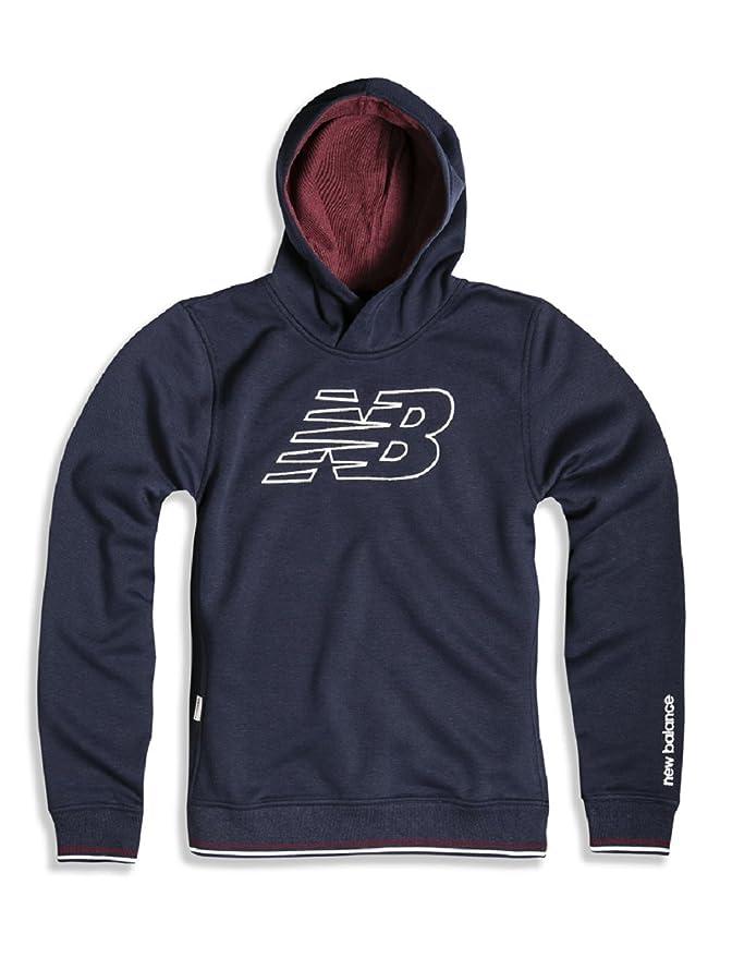 NEW BALANCE Sportswear - Sudadera con Capucha - para Hombre Azul Navy XXL: Amazon.es: Ropa y accesorios