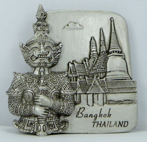 Souvenir THAILAND GRAND PALACE 3d Fridge Magnet Magnetic Collectibles Gift 3D by nitthaishop