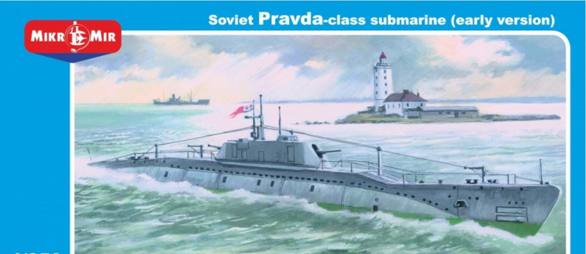 Amazon.com: Plástico Pravda Clase Submarino Soviética (Early ...