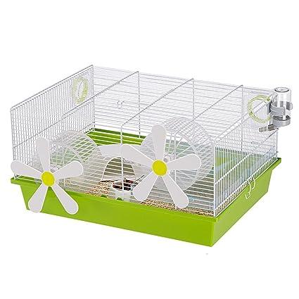 Ferplast Jaula Roedores 50x35x25 cm Mascotas Pequeñas Hamster Caja Casetas