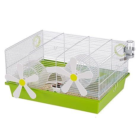 Ferplast Jaula Roedores 50x35x25 cm Mascotas Pequeñas Hamster Caja Casetas: Amazon.es: Productos para mascotas