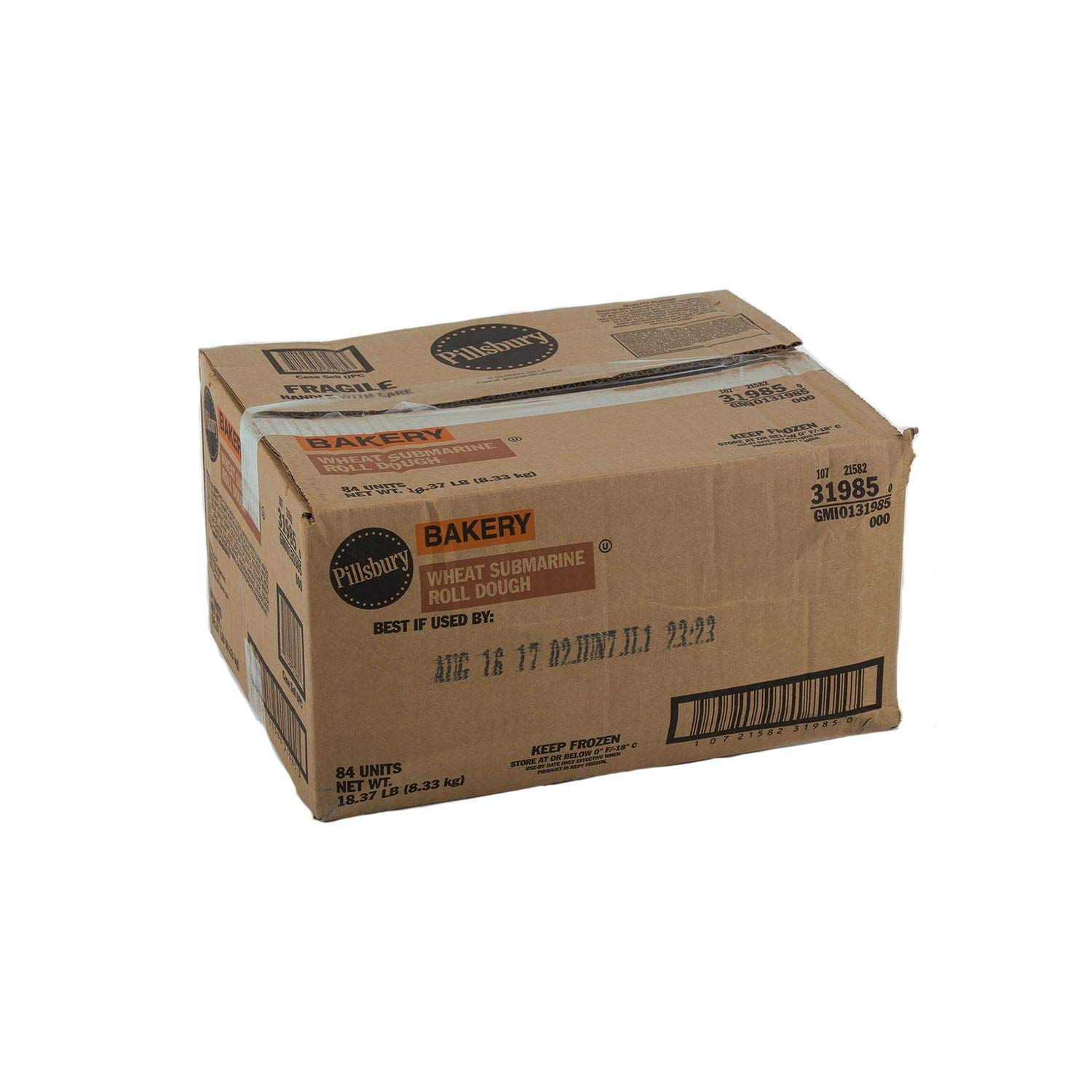 Case Sale: Jumbo Wheat Hoagie Rolls 42 ct. (pack of 3) A1
