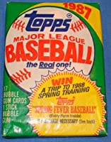 Topps 1987 Series MLB Trading Cards