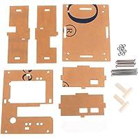 JunYe Caja de acrílico Shell FR GM328 Transistor