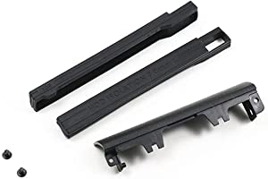 Replacement Hard Drive Caddy Cover + 7mm Isolation Rubber Rails for Dell Latitude E6540