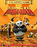 Kung Fu Panda Coloring Book: Coloring book for boys and girls