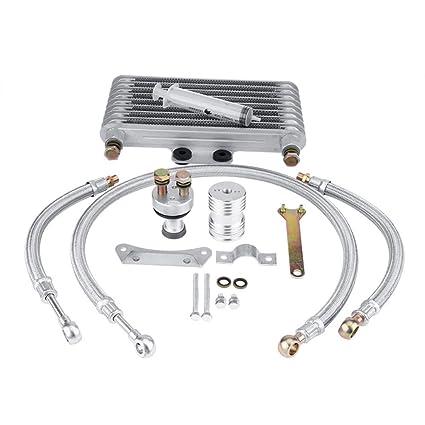 KIMISS Kits de Radiador de Enfriador de Aceite de Motor de ...