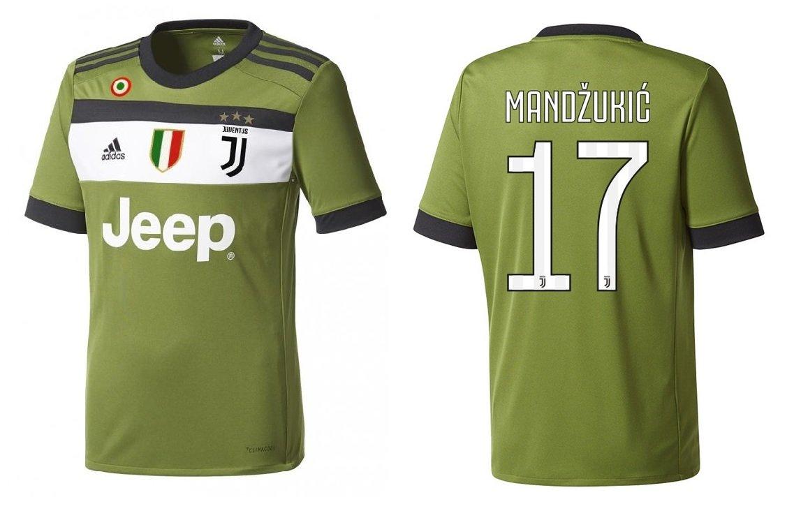 Trikot Kinder Juventus 2017-2018 Third Coppa Scudetto - Mandzukic 17