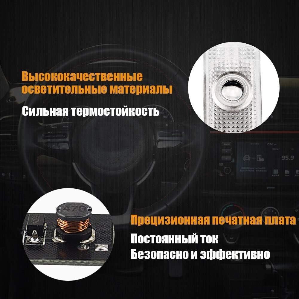 2 pieces door light for XE XJ XK F type LED door welcome light laser projector logo car door accessories