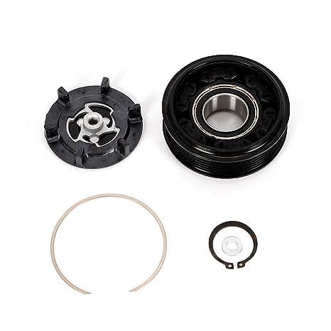 Z&Y Compresor de aire acondicionado de polea de embrague magnético para Au di A4 A6 A8 para Den so 6SEU14C: Amazon.es: Coche y moto