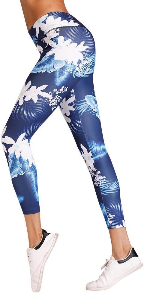 Kaiki Sportwear_Leggings Mallas Deportivas para Mujer con Bolsillo, S, diseño de Gato, Mujer, Azul, Small: Amazon.es: Deportes y aire libre