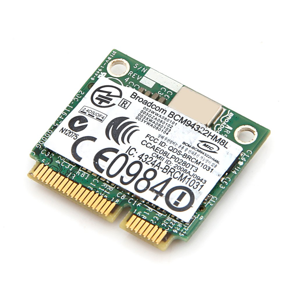 Dell Dw 1510 AGN Half Bcm4322 Dual-band N Pci-e Card 802.11a//g//n