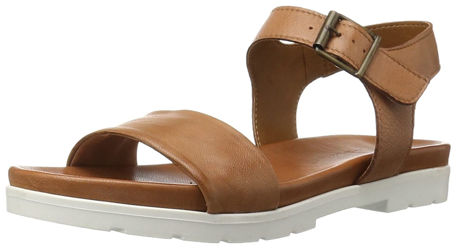 Amazon.com | STEVEN by Steve Madden Women's Sandrine Platform Sandal,  Cognac Leather, 8 M US | Platforms & Wedges
