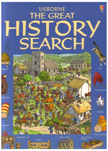 Read Online Usborne The Great History Search (Great Searches New Format) pdf