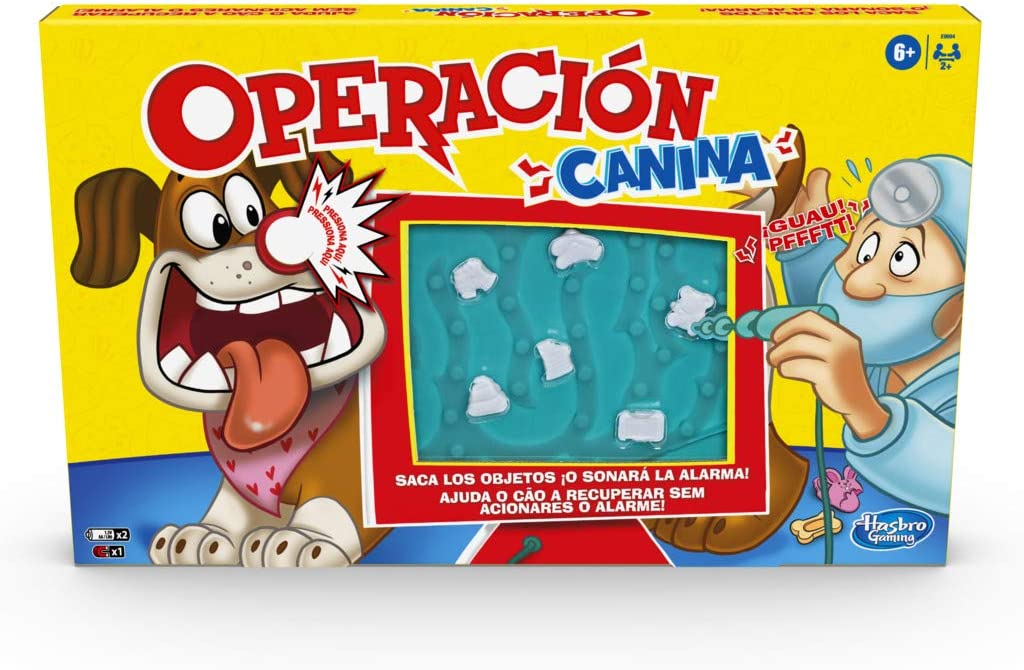 Operación Canina (Hasbro E9694175)