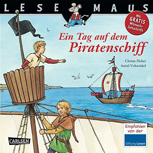 LESEMAUS 114: Ein Tag auf dem Piratenschiff