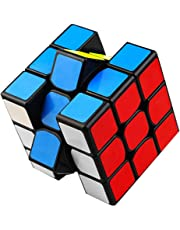 aerialjump 3x3x3 Magical Toy High Speed 3-D Puzzles Cube, Black