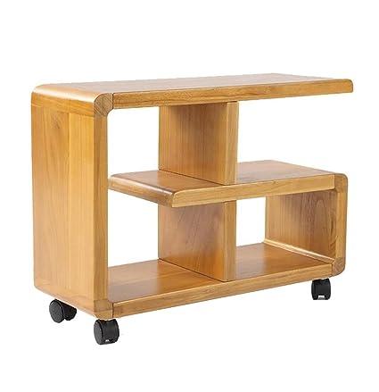 Soporte de madera maciza Sofá / cama Armario lateral Estantería de ...